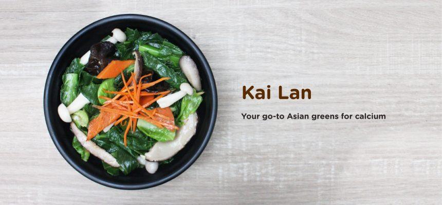greendot kai lan vegetarian dish