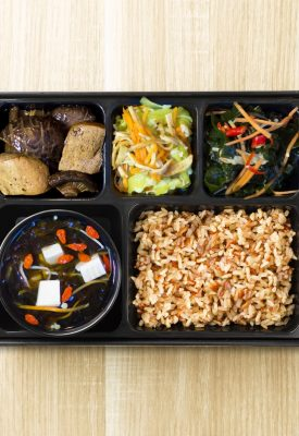greendot vegetarian bento