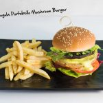 Forest Arugula Portobello Mushroom Burger