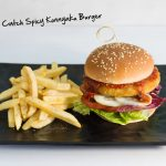 Vegan Neptune's Catch Spicy Konnyaku Burger