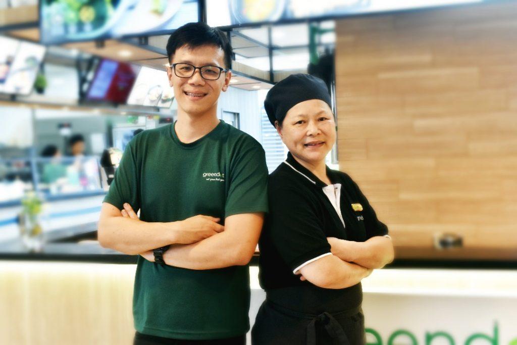 Yonghong & Auntie Mabel